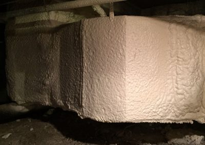 Spray Foam Gallery - Duct-work - Employing only proven, code-required techniques, DE customizes spray polyurethane foam insulation packages for residential and commercial HVAC duct applications.