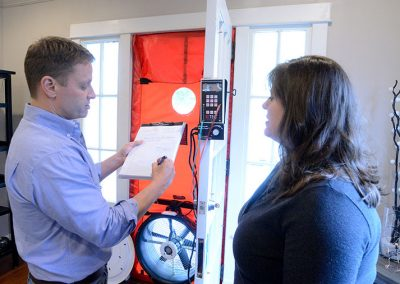 Diversified Energy Services - Diagnostics - Diversified Energy uses the most advanced diagnostics, including thermal imaging, blower door testing, and duct leakage testing to detect deficiencies