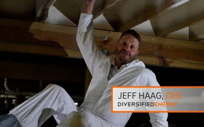 Jeff Haag, the owner of Diversified Energy, discusses installing closed-cell spray polyurethane foam insulation in the subfloor of your raised house or building.