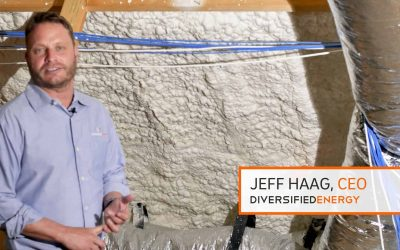 Jeff Haag, owner of Diversified Energy discusses the importance of proper spray polyurethane foam insulation in your attic and how to work around previously installed HVAC ductwork.