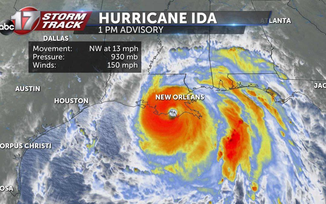 Hurricane Ida Update #1